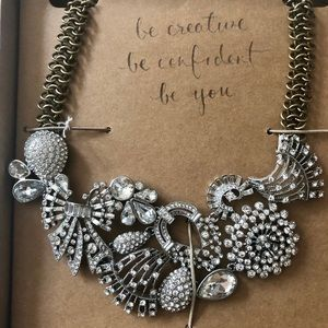 Deco Collage Statement Necklace Chloe + Isabel